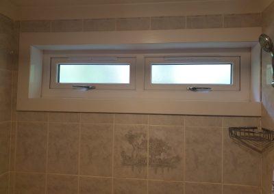 double glazed windows