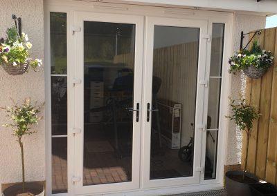 back door installers Glasgow